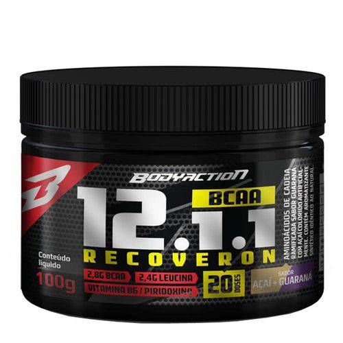 Bcaa 12:1:1 Recoveron (100g) Bodyaction - Guaraná com Açaí