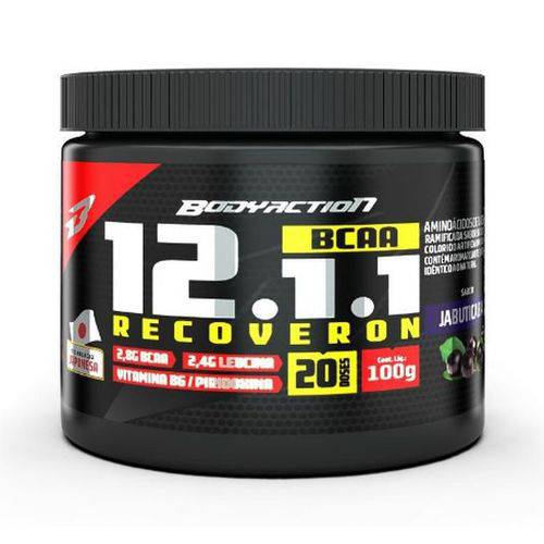 Bcaa 12:1:1 Recoveron 100g Uva Verde - Body Action