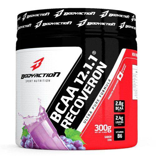 BCAA 12.1.1 Recoveron Bodyaction 300 Gr > Guaraná/Açai