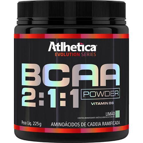 BCAA 2:1:1 Powder (225g) Atlhetica Nutrition - Limão