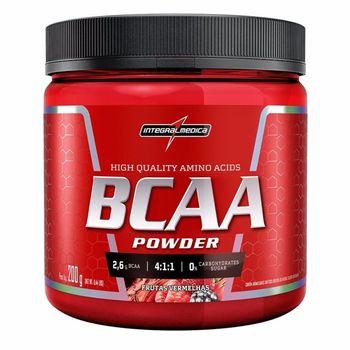 BCAA 4:1:1 Powder Frutas Vermelhas 200g - IntegralMedica