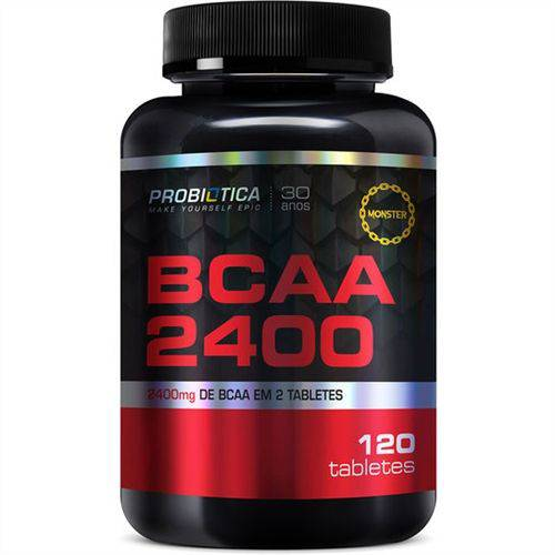 Bcaa 2400 (120 Tabs) - Probiótica