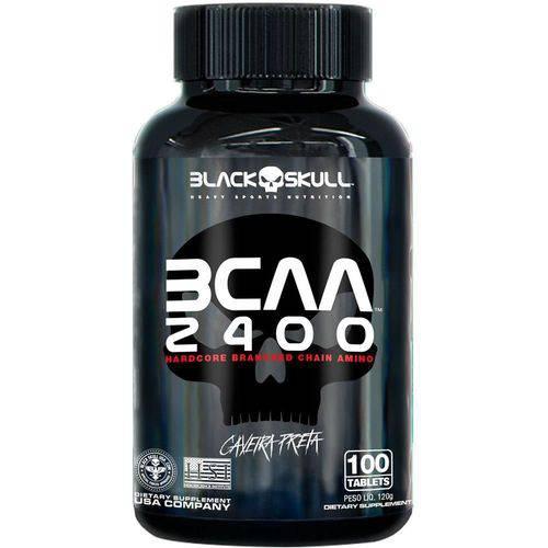 Bcaa 2400 - 100tabs - Black Skull