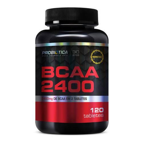 Bcaa 2400 - 120tabs - Probiótica