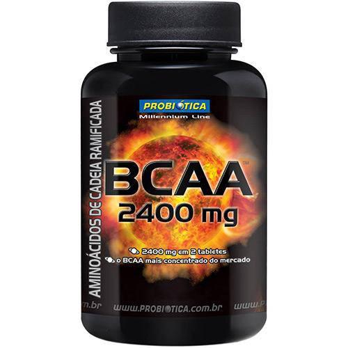 BCAA 2400 - Suplemento Alimentar 120 Tabletes - Probiótica