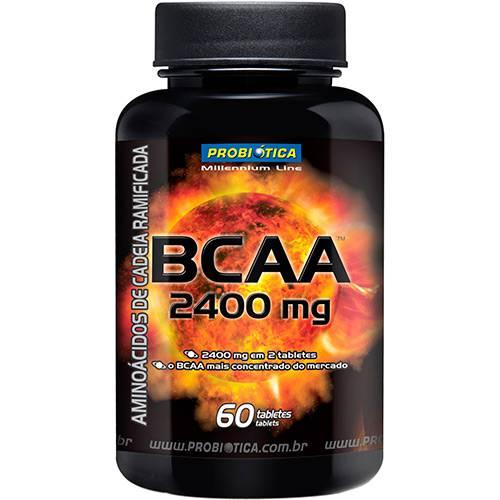 BCAA 2400 - Suplemento Alimentar 60 Tabletes - Probiótica