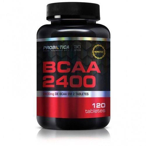 BCAA 2400mg 120 Tabletes Probiotica