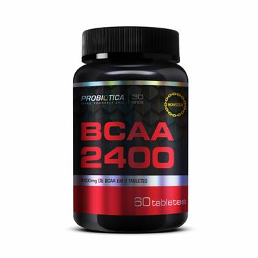 Bcaa 240mg 60 Tabletes Probiótica