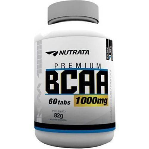 Bcaa 60 Tabletes 1g Nutrata