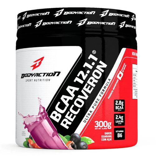 Bcaa Body Action 12.1.1 Recoveron 300g Açai com Guaraná