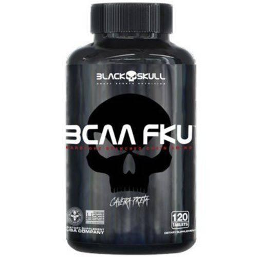 Bcaa Fku 120 Tabletes Black Skull
