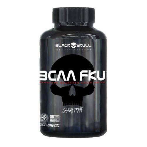 Bcaa FKU Caveira Preta - 240 Tabs - Black Skull