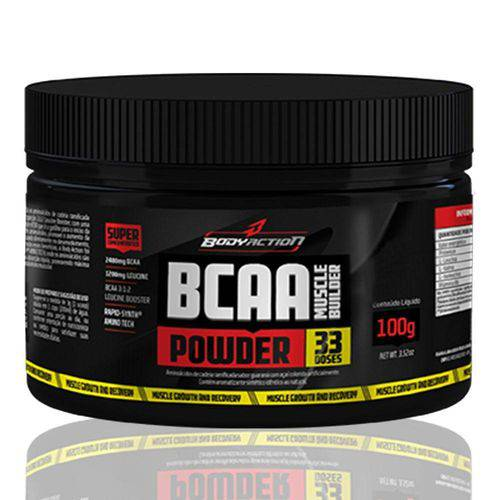 Bcaa Muscle Builder Powder 100gr - Body Action