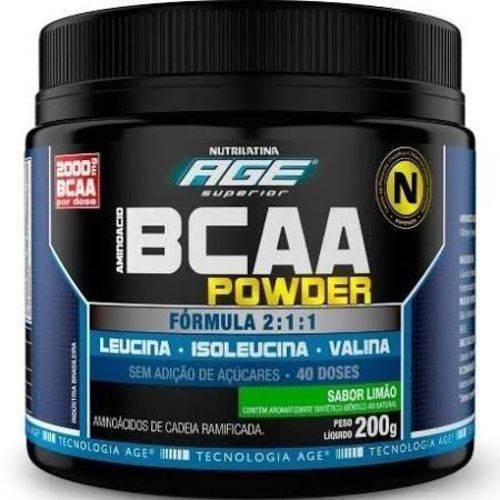 Bcaa Powder 200g - Nutrilatina Age