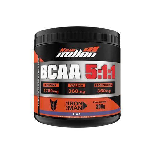 Bcaa Powder 5:1:1 200g - Uva - New Millen