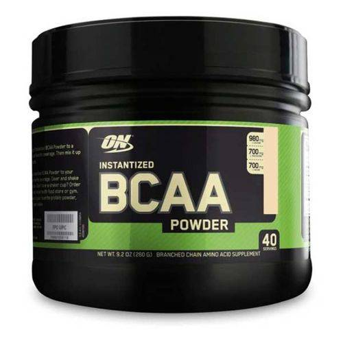 Bcaa Powder - 260g - Laranja - Optimum Nutrition