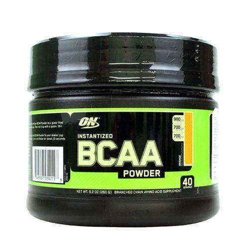 Bcaa Powder - 260g Sabor Laranja - Optimum Nutrition
