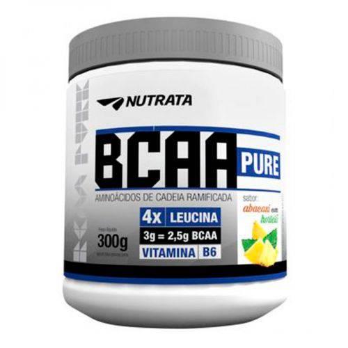 Bcaa Pure Abacaxi com Hortelã em Pó 300 Gr Nutrata