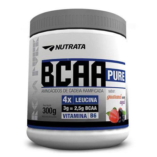Bcaa Pure para Recuperação Muscular Sabor Abacaxi com Hortelã 300g - Nutrata