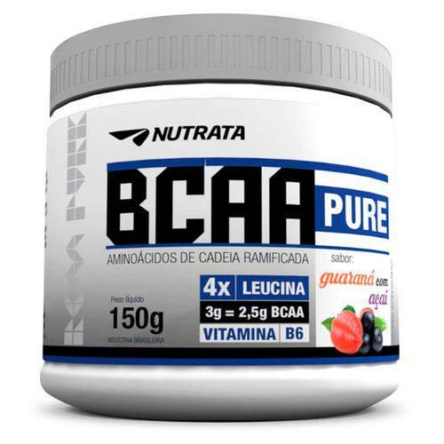 Bcaa Pure Recuperação Muscular Sabor Abacaxi com Hortelã 150g - Nutrata