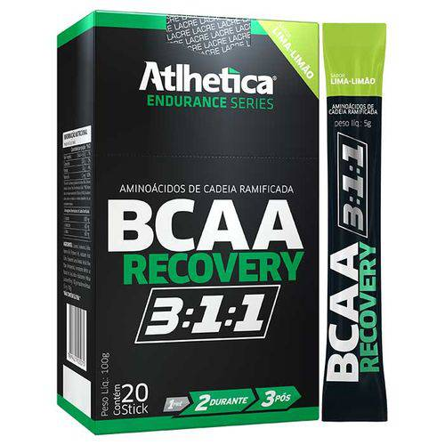 Bcaa Recovery 3:1:1 - 20 Sticks - Atlhetica Nutrition