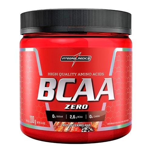 BCAA Zero Integralmédica Sabor Frutas Vermelhas 200g
