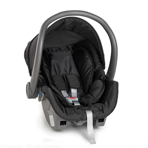 Bebê Conforto 0 a 13kg Cocoon Galzerano Black Black