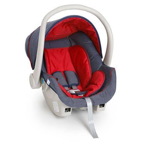 Bebê Conforto Cocoon Jeans/vermelho - Galzerano