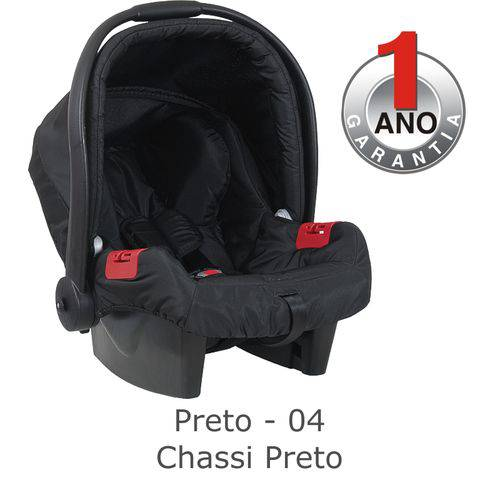 Bebê Conforto Touring Evolution Preto 0 a 13Kg - Burigotto