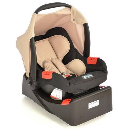 Bebê Conforto Touring Evolution se Cappuccino + Base Burigotto