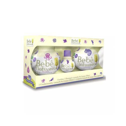 Bebê Natureza Lavanda Shampoo + Condicionador 230ml + Colônia