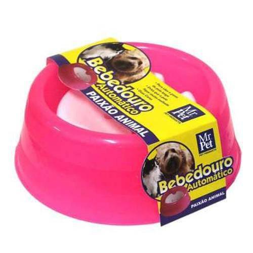 Bebedouro Automático Mr Pet Rosa 1000 Ml