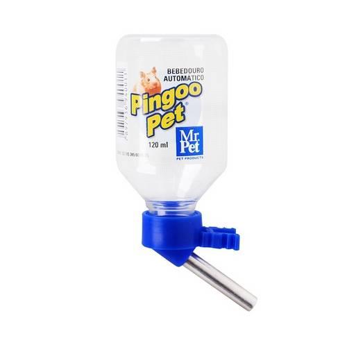 Bebedouro Bico Inox Mr. Pet Roedores Azul
