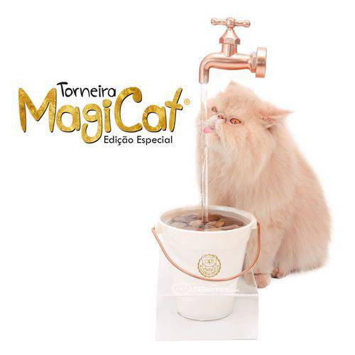 Bebedouro Catmypet Magicat Gold 110v