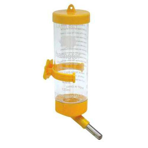Bebedouro Chalesco Drinker para Hamster Amarelo - 80 Ml