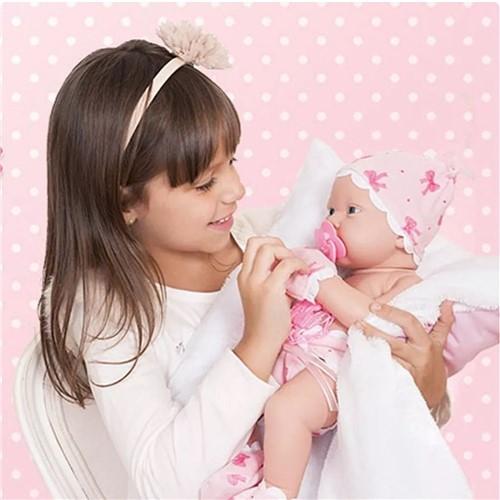 Bebezinho da Mamae com Fralda Luvas Cotiplas