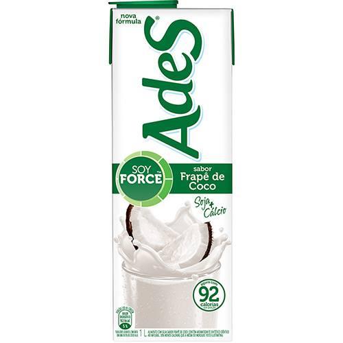 Bebida à Base de Soja Frapê de Coco Ades - 1L