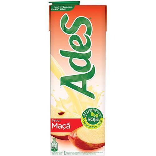 Bebida à Base de Soja Maçã Ades - 1L