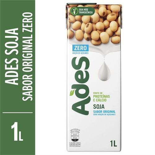 Bebida de Soja Ades 1l Zero Original