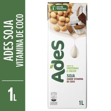 Bebida de Soja Ades de Frapê de Coco 1L