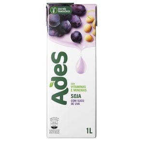 Bebida de Soja com Suco de Uva Ades 1 Litro
