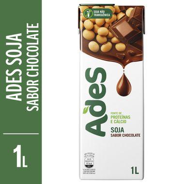 Bebida de Soja Sabor Chocolate Ades 1L