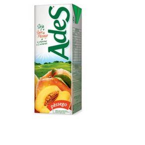 Bebida de Soja Sabor Pêssego Ades 1 Litro