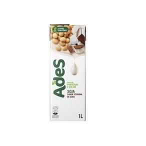 Bebida de Soja Sabor Vitamina de Coco Ades 1 Litro