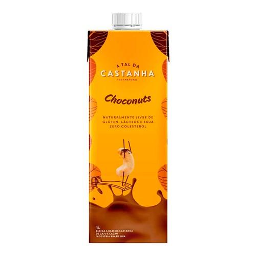 Bebida Orgânica a Tal da Castanha Choconuts 1 Litro