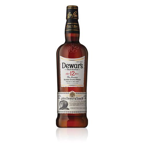Bebida Whisky Scotch Dewar´s 12 Years 1L