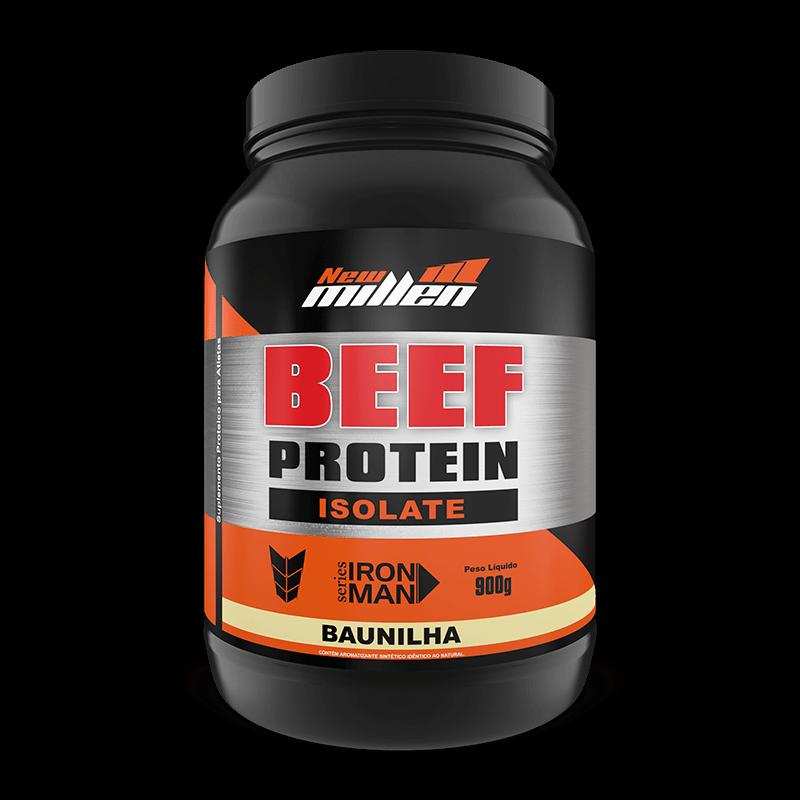 Beef Protein Isolate (900g) New Millen-Baunilha