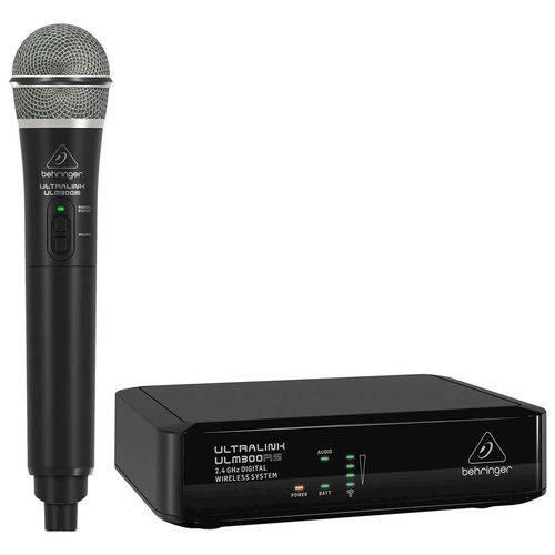 Behringer ULM300 | Microfone Sem Fio Digital 2.4ghz