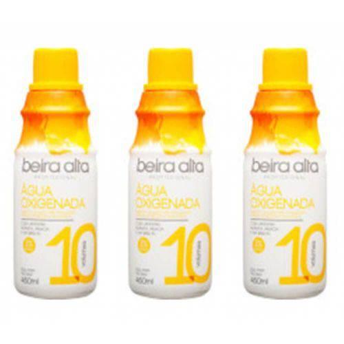 Beira Alta Água Oxigenada 10vol Creme 450ml (kit C/03)
