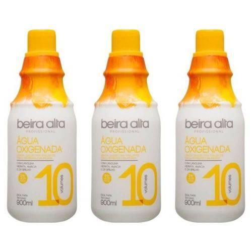 Beira Alta Água Oxigenada 10vol Creme 900ml (kit C/03)